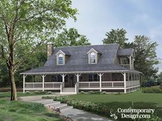 New Single Story Farmhouse Plans With Wrap Around Porch Best Country Style  Homes With Wrap Around Porch House Plans