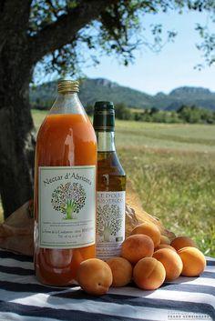 Olive oil & apricot juice, provence