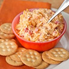 Homemade Pimento Cheese - an easy, quick appetizer made with ingredients you probably already have on hand! #foodgawker