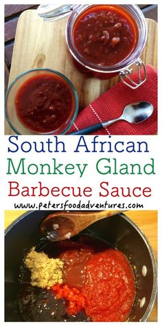 A delicious bbq sauce with a crazy name! South African Monkey Gland Barbecue Sauce Recipe