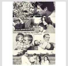 Peeta & Katniss with toastbabies