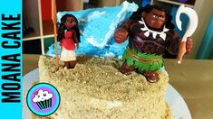 How to make Disney Moana Cake | Pinch of Luck