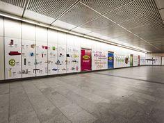 Stationbranding IKEA 2010 Ikea, Visual Communication, Advertising, Projects