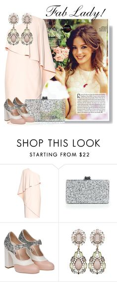 """..."" by elenb ❤ liked on Polyvore featuring Givenchy, Edie Parker and Miu Miu"