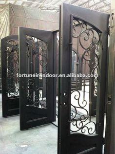 grades de ferro em arabesco - Google Search Bookends, Windows, Doors, Iron Railings, Ideas Para, Home Decor, Diy, Design, Arabesque