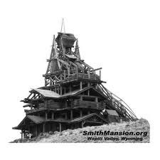 Smith Mansion in Wapiti Valley, Wyoming