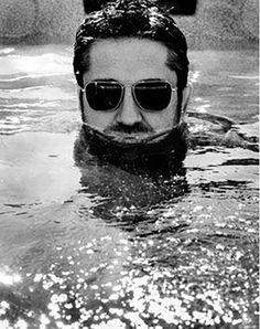 . b&w photos _     Gerard Butler