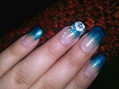 Brush up nail polish with a beautiful hawiian design (:
