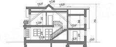 Rzut projektu Juliusz Mały Floor Plans, Floor Plan Drawing, House Floor Plans