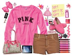 """""""PINK"""" by uk2k on Polyvore"""