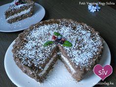 Zabpehely torta (sütés nélküli)