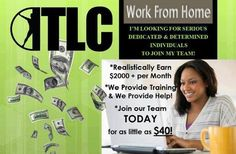 Earn Money from Home -  TOTAL LIFE CHANGES - - Looking for three people to join me in my vision to help others become healthy and improve their quality of life.