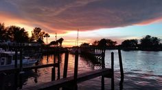 View from The Crow's Nest Restaurant/Jetty Venice Florida