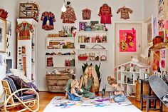 New Moon: Nursery Inspiration from Captain and the Gypsy Kid...