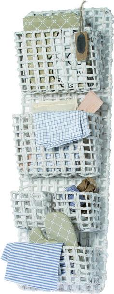 Riverdale Organiser  - Hyacinth 5 vakken - Wit - 97 cm