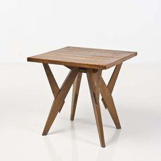 Carlo Mollino; Oak Table for Ettore Canali, c1954.