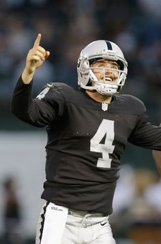 """Pin for Later: 30 Hot NFL Quarterbacks Who Give New Meaning to """"Fantasy Football"""" Derek Carr, Oakland Raiders"""