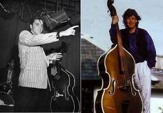 Paul McCartney has a Bill Black's Bass.