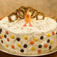 Turkey Ice Cream Cake