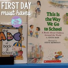 Peek At My Week: The first week Back To School Essentials, Back 2 School, One Week, First Grade, Hello Everyone, Classroom Management, The One, Children, Kids