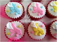 cupcakes soy luna - tortas - mesa dulce - cookies