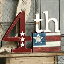 Unusual Wood Crafts Ideas For Of July Independence Day 11 Fourth Of July Decor, 4th Of July Decorations, 4th Of July Party, July 4th, Holiday Decorations, Seasonal Decor, Patriotic Crafts, July Crafts, Summer Crafts