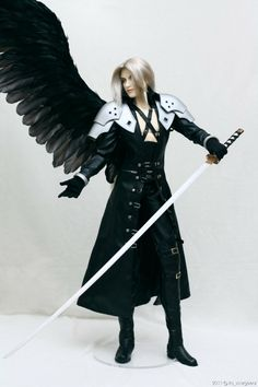 Sephiroth: proud of himself 03 by ~scargeear on deviantART
