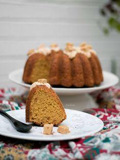 Bundt Cake de Turrón de Jijona – Bizcocheando