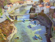 Fantastic painting in pastels by David Allen
