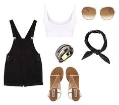 """""""just a summer thing"""" by hotchicc ❤ liked on Polyvore featuring Chloé and Monki"""