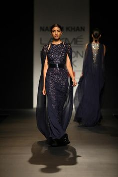 Indian Designer Naeem Khan at Lakme Indian Fashion Week as part of Summer 2013. Follow Strand of Silk to get the best of Beautiful Indian Fashion from leading Fashion Designers, including Contemporary Indian Fashion and Indian Bridal clothes like Saris, A