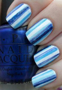 Blue Stripes!