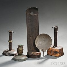 Make-do Lighting Devices, 18th and 19th century