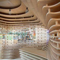 CUSTORE Pavilion by Anna Dobek and Mateusz Wójcicki