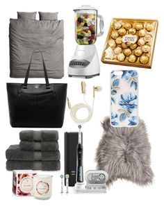 Christmas is coming by isabellegranborg on Polyvore featuring polyvore, fashion, style, Vince Camuto, Sonix, Skinnydip, H&M, Maison de Vacances, Christy, Black & Decker and Voluspa