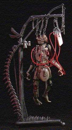McFarlane Toys Clive Barker's Tortured Souls Action Figure IV Talisac