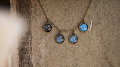 Ilianne | Jewelry Made of Love - Galaxy Shades Necklace Space Jewelry, Glass Domes, Beautiful Images, Turquoise Necklace, Polymer Clay, Zodiac, Jewelry Making, Bronze, Shades