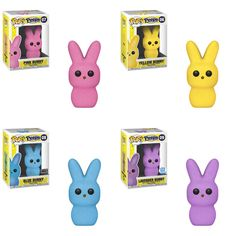 : Strawberry (pink), Mango (yellow), Apple (blue) and Plum (purple) Funko Pop Dolls, Funko Pop Figures, Pop Vinyl Figures, Best Funko Pop, Emo, Pop Figurine, Funk Pop, Disney Pop, Pop Toys