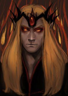 Sauron doodle by rosythorns.deviantart.com on @deviantART
