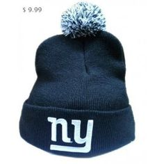 NFL Knit Hats New York Giants Navy Blue Beanie Sale NYGKH06