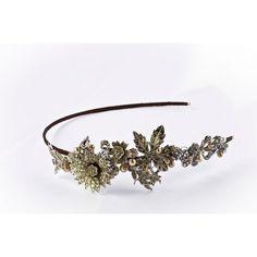 Vintage Jewelled Marcasite Flowers - Gillian Million Bespoke Wedding Accessories