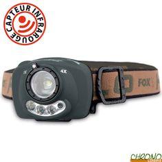 Beautiful Lampe Frontale Fox Halo HT Focus Sensor sur chronocarpe p
