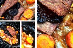 Menú para un día cavernícola: lomo de res al horno (con marinado de papaya) Steak, Food, Oven, One Day, Easy Recipes, Gatos, Eten, Steaks, Meals