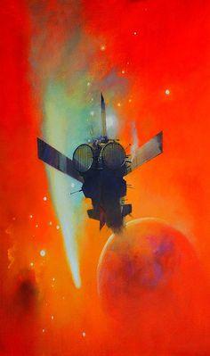 70s Sci-Fi Art: translucentmind:   Echo // John Harris