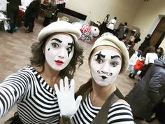 Mime Makeup, Halloween Face Makeup, Cabaret, Goth, France, Gothic, Goth Subculture, French
