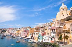 Corricella! A beautiful, authentic little place on Procida Island. It's 15 minutes from Ischia Island in the Bay of Naples.