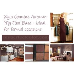 """Zyla Gamine Autumn: First Base"" by jeaninebyers on Polyvore (this isn't my first base - Val)"