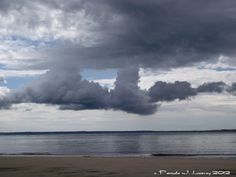 Daily Affirmations: Tenacity  Photo: Cloudy Sky at Sandy Point
