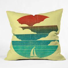 DENY Designs Home Accessories | Budi Kwan Sail Away Throw Pillow