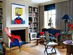Arquiteto: Dmitry VelikovskyFotógrafo: Tim BeddowFonte: Architetural Digest May 2012